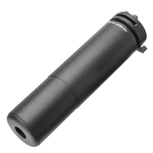 PTS Griffin Armament M4SD II Aluminium Mock Suppressor schwarz