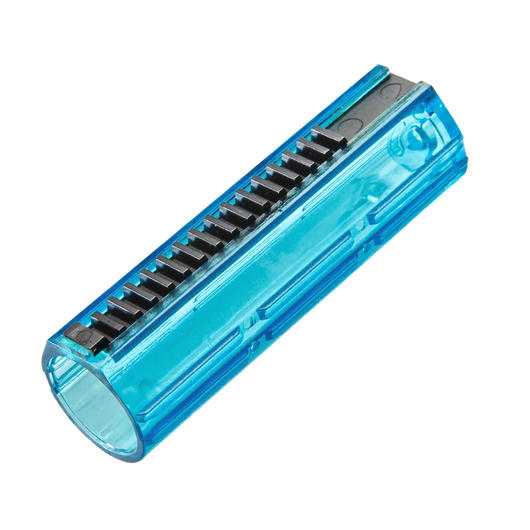 Super Shooter Polycarbonate LW Piston mit 15 Stahlzähne (Vollzahn) blau