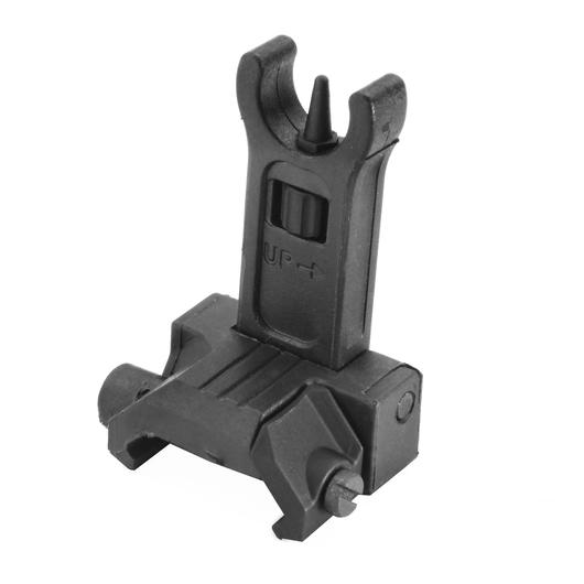 Ares AS-F-021 Nylonfiber Flip-Up Front Sight schwarz f. 21mm Schienen