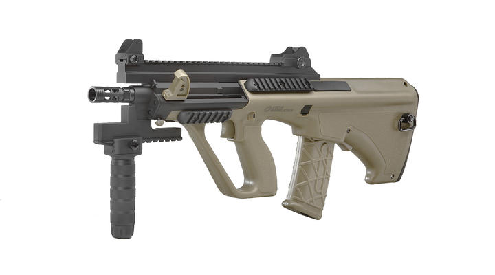 ASG Steyr Mannlicher AUG A3 XS Commando Proline S-AEG 6mm BB Tan