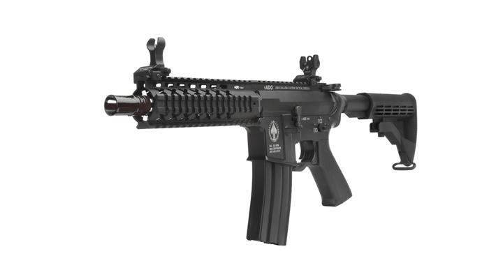 Evolution Airsoft ADC Bodyguard Vollmetall S-AEG 6mm BB schwarz