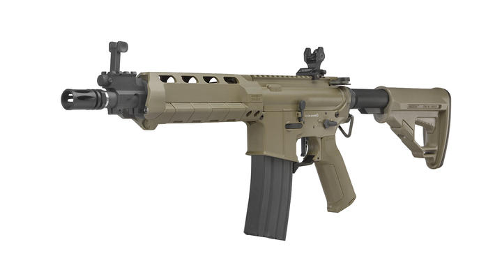 Ares X Amoeba M4 AMSS Vollmetall EFC-System S-AEG 6mm BB Dark Earth