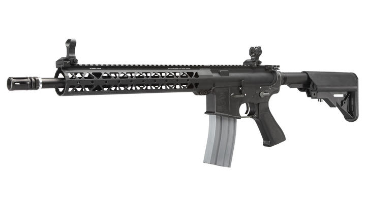 Deep Fire Samson Evolution M4A1 14.5 Zoll / 12,37 Rail Standard S-AEG 6mm BB schwarz
