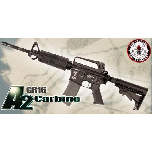 G&G GR16 A2 Carbine Vollmetall S-AEG 6mm BB