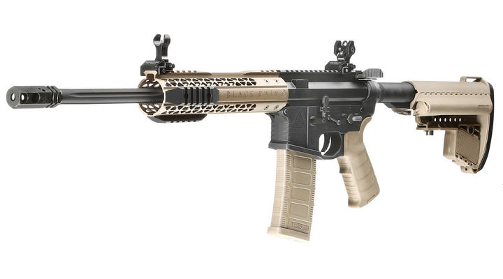 King Arms Black Rain Ordnance Fallout 15 CQB Vollmetall S-AEG 6mm BB Dark Earth