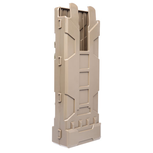 Jag Arms Molle Magazintasche f. 10 Shotgun Shells / Patronen Tan