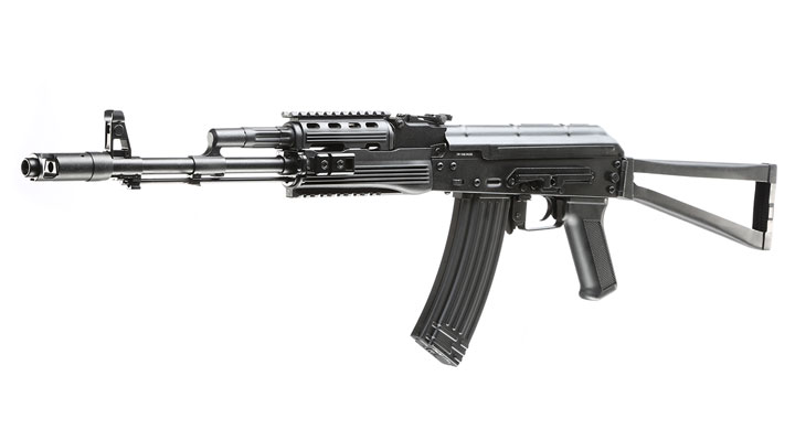 APS AKS-74 Tactical Vollmetall BlowBack S-AEG 6mm BB schwarz