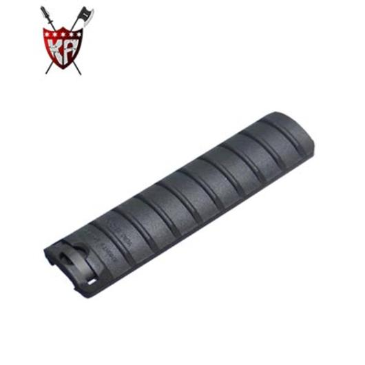 King Arms Rail Cover 9 Ribs schwarz