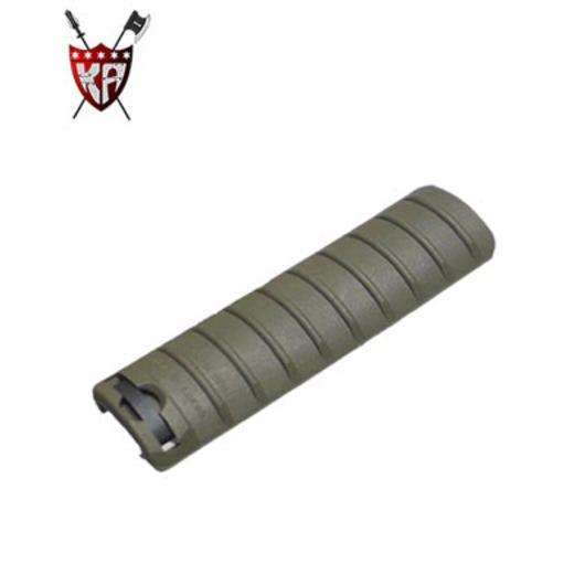 King Arms Rail Cover 9 Ribs oliv (OD)