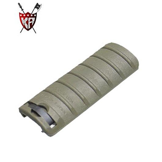 King Arms Rail Cover 6 Ribs oliv (OD)