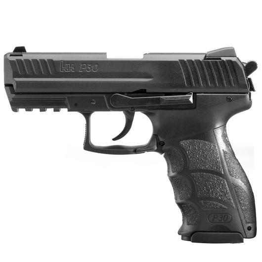 heckler koch p30 schreckschuss pistole 9 mm p a k br niert kotte zeller. Black Bedroom Furniture Sets. Home Design Ideas