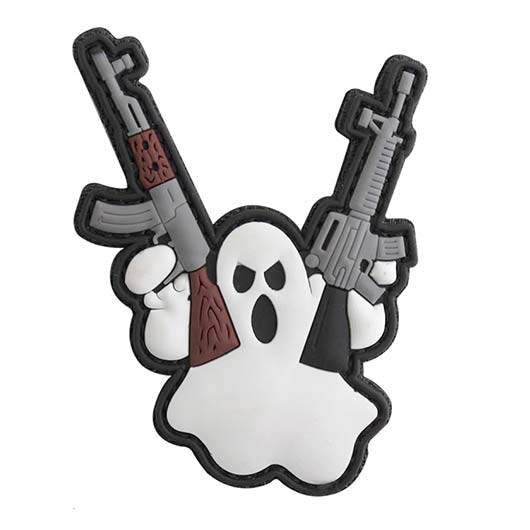 3D Rubber Patch Terror Ghost