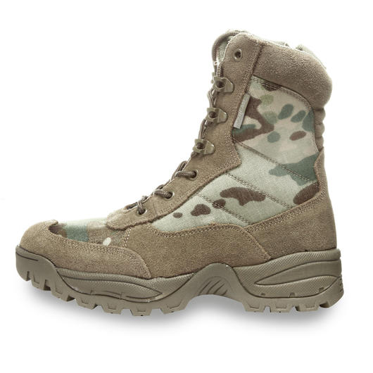 Tactical Boots mit YKK-Zipper multicam