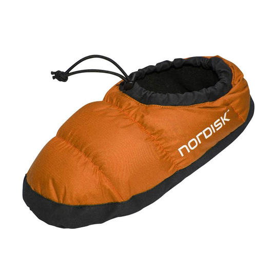 Nordisk  Daunenschuhe,  Mos Down Shoe  red orange
