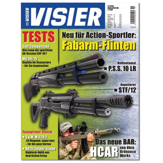 Visier - Das internationale Waffenmagazin 11/2014