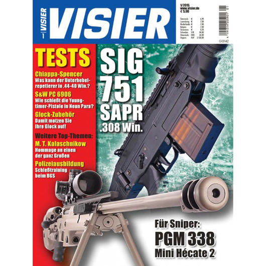 Visier - Das internationale Waffenmagazin 01/2015