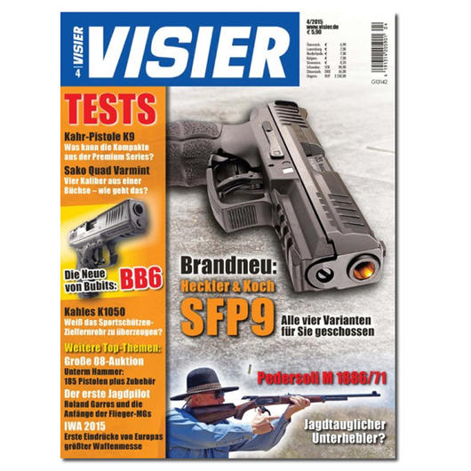 Visier - Das internationale Waffenmagazin 04/2015