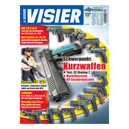 Visier - Das internationale Waffenmagazin 10/2016