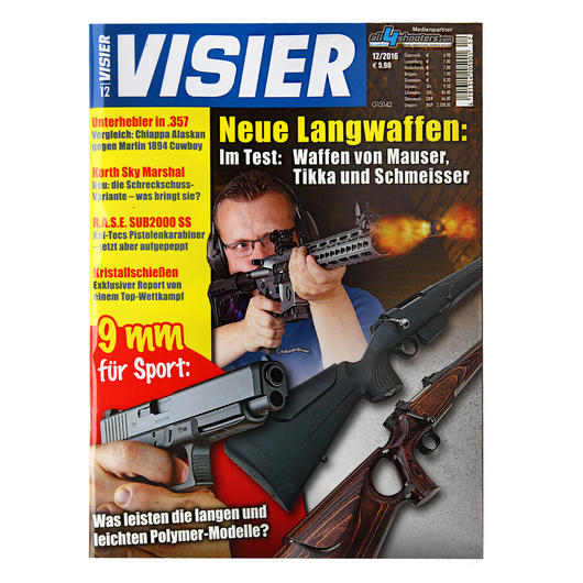Visier - Das internationale Waffenmagazin 12/2016