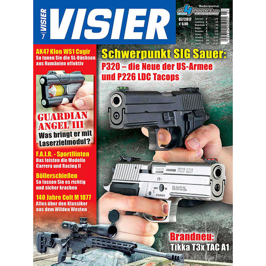 Visier - Das internationale Waffenmagazin 07/2017