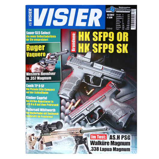 Visier - Das internationale Waffenmagazin 12/2017