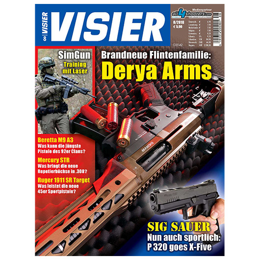 Visier - Das internationale Waffenmagazin 08/2018