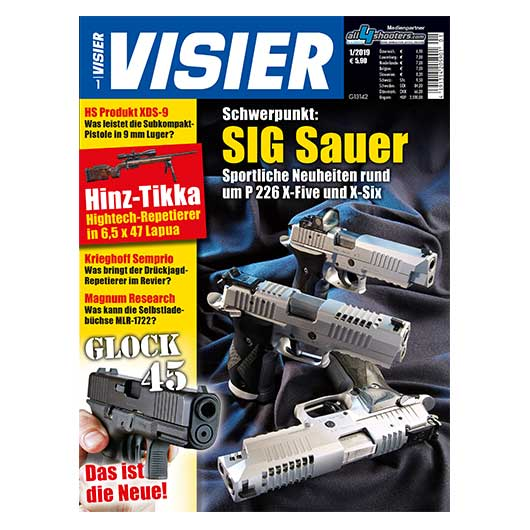 Visier - Das internationale Waffenmagazin 01/2019