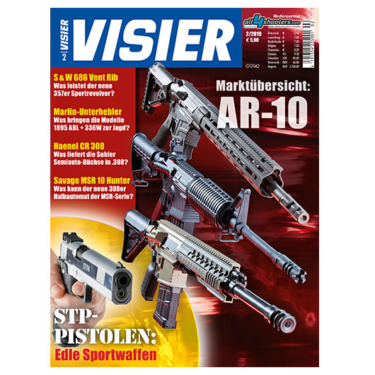 Visier - Das internationale Waffenmagazin 02/2019