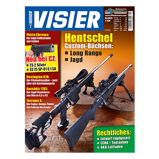 Visier - Das internationale Waffenmagazin 02/2021
