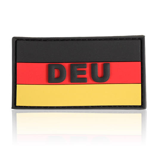 3D Rubber Patch Deutschlandflagge DEU