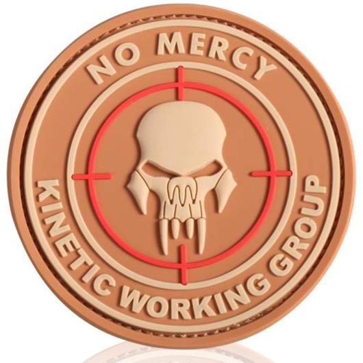 3D Rubber Patch No mercy desert