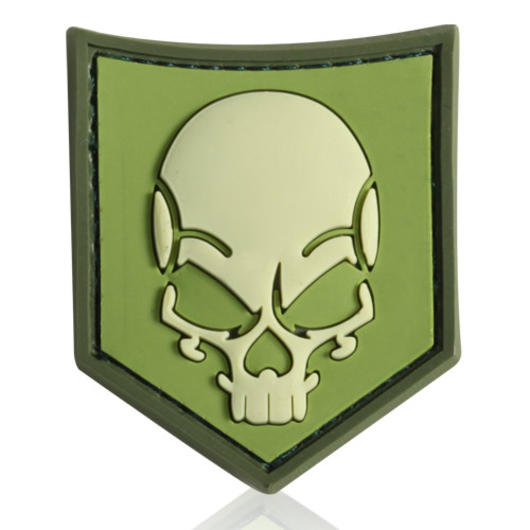 3D Rubber Patch SOF Skull forest
