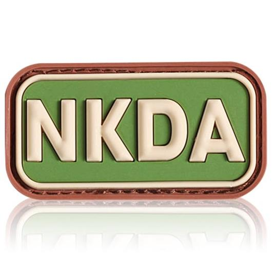 3D Rubber Patch NKDA multicam