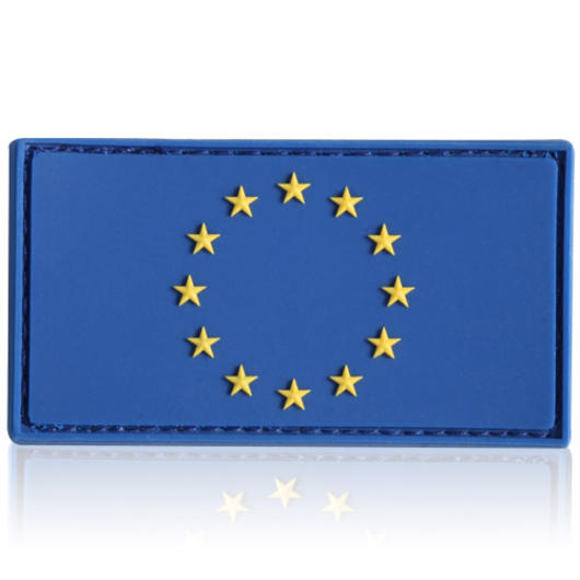 3D Rubber Patch EU Flagge