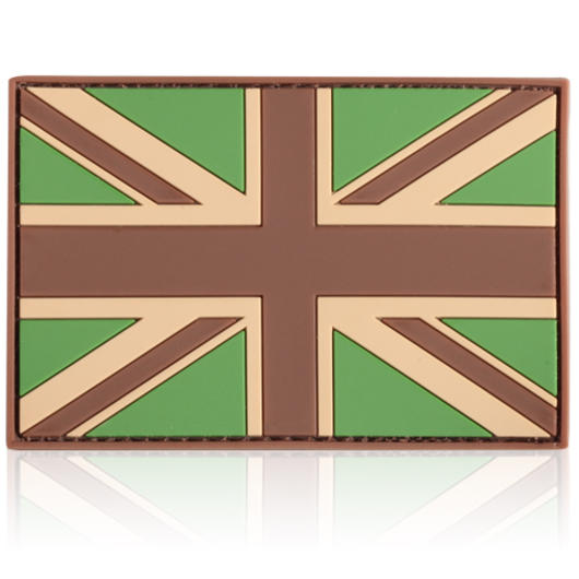 3D Rubber Patch Flagge UK multicam England