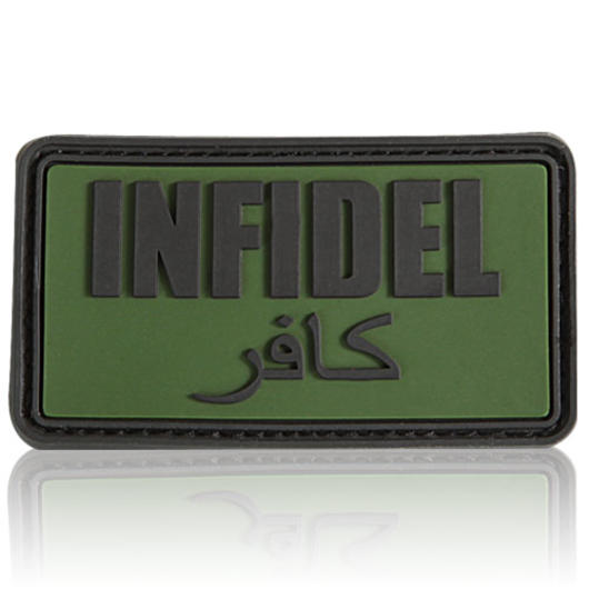 3D Rubber Patch Infidel forest