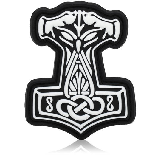 3D Rubber Patch Thors Hammer swat