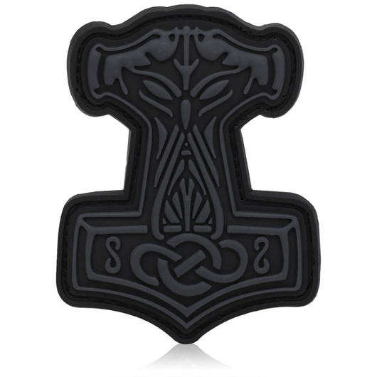 3D Rubber Patch Thors Hammer blackops