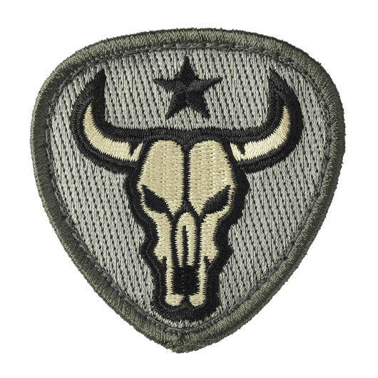 Mil-Spec Monkey Patch Bull Skull ACU