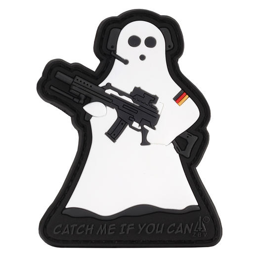 3D Rubber Patch Ghost Sniper