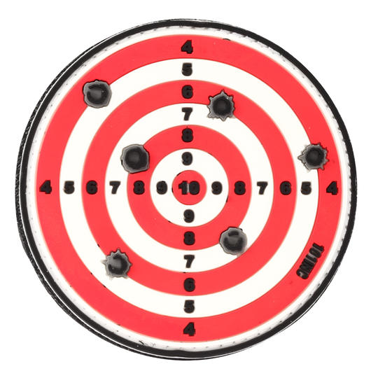 101 INC. 3D Rubber Patch target rot