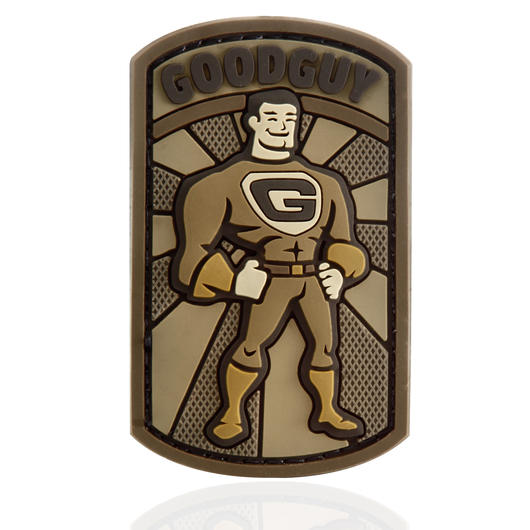 Mil-Spec Monkey 3D Rubber Patch Good Guy desert