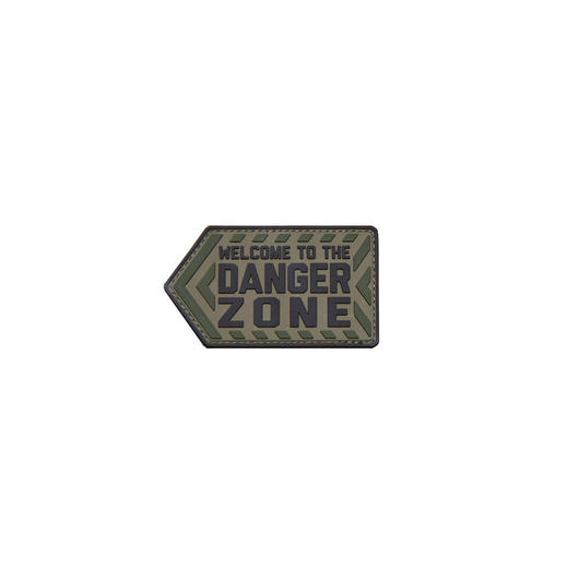 Mil-Spec Monkey 3D Rubber Patch Danger Zone Multicam