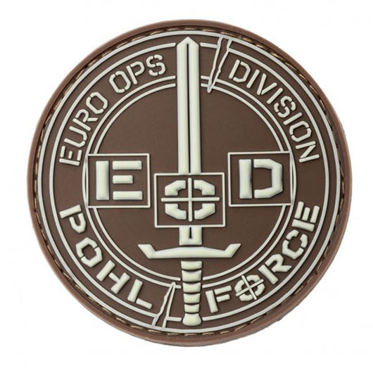 Pohl Force 3D Rubber Patch Euro-Ops-Division Gen2