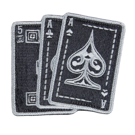 5.11 Patch Ace In Hand schwarz