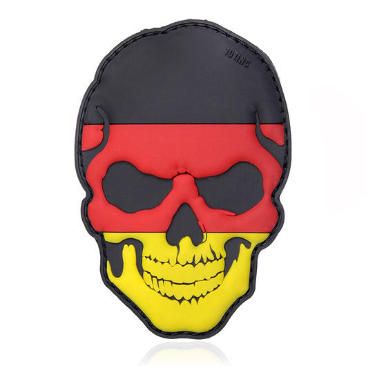 101 INC. 3D Rubber Patch Skull Deutschland