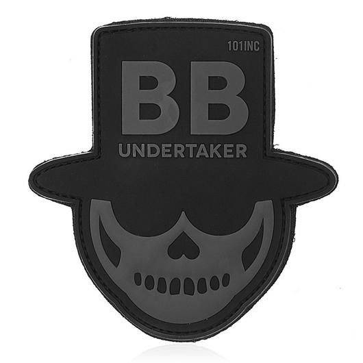 101 INC. 3D Rubber Patch BB Undertaker swat