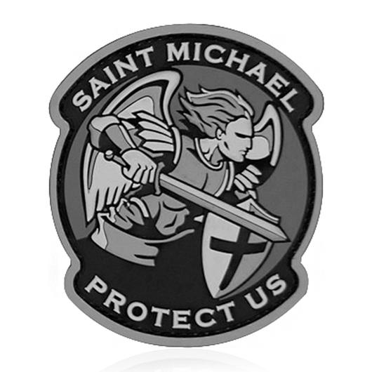 Mil-Spec Monkey 3D Rubber Patch Saint Michael Modern PVC urban