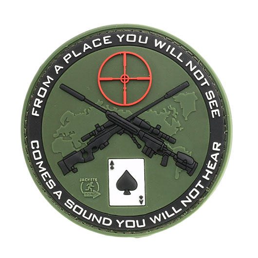 JTG 3D Rubber Patch Sniper forest