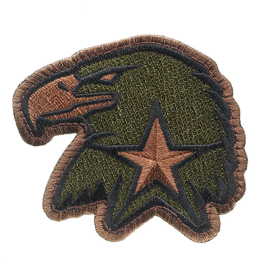 Mil-Spec Monkey Patch Eagle Star forest